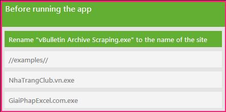 vBulletin Archive Scraping - Ego Bizzin's