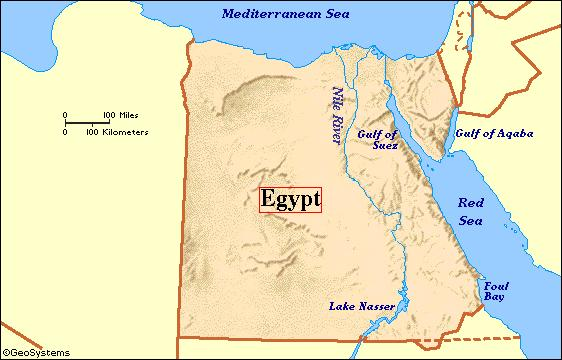 Geography - Egypt Vs. Yellow River Valley