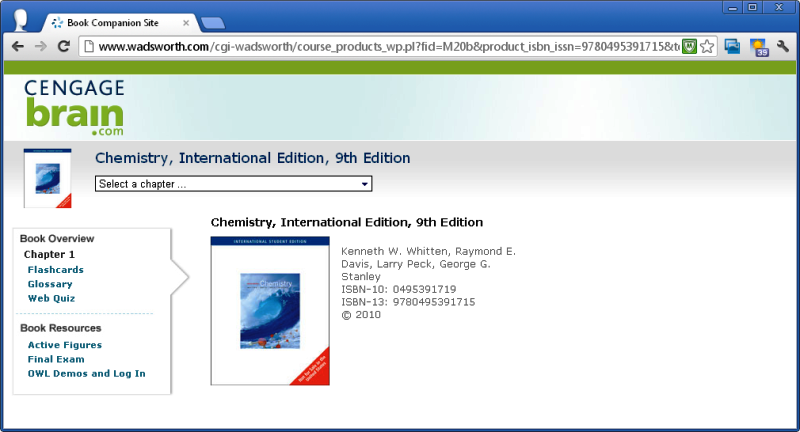 9e (2010) - eLearning Chemistry 4