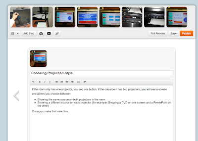 screenshot of Instructabale Web site