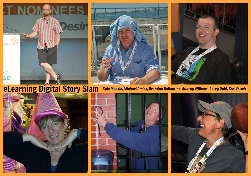 Digital Story Slam with Kyle Mackie, Michael Amick, Brandon Ballentine, Audrey Williams, Barry Dahl, and Kari Frisch