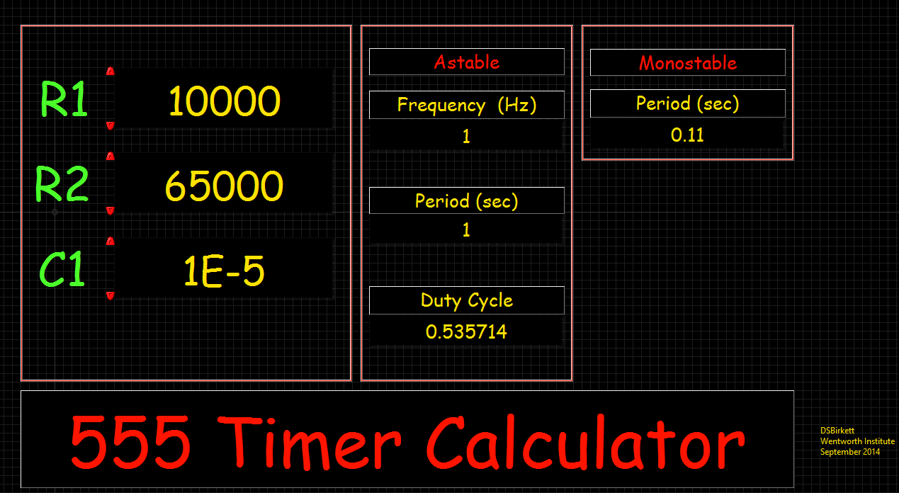 Design Project Elec 163 555 Timer Flashing Led Circuit Using The And 7490 We Designed A Schematic That Would Output 1 Hz To Making It Blink About Every One Second Below Is Of Our
