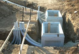 Duct bank construction electrical contractor in Toronto - Electrical
