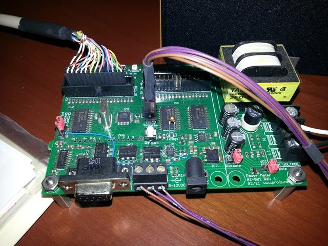 House Power Meter : House power meter electronic projects