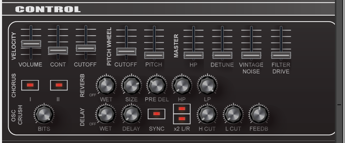 Synth Patches - Elena's Synthesis Assignment