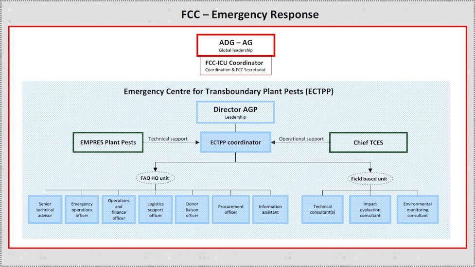Emergency Response Framework Locust Emergency