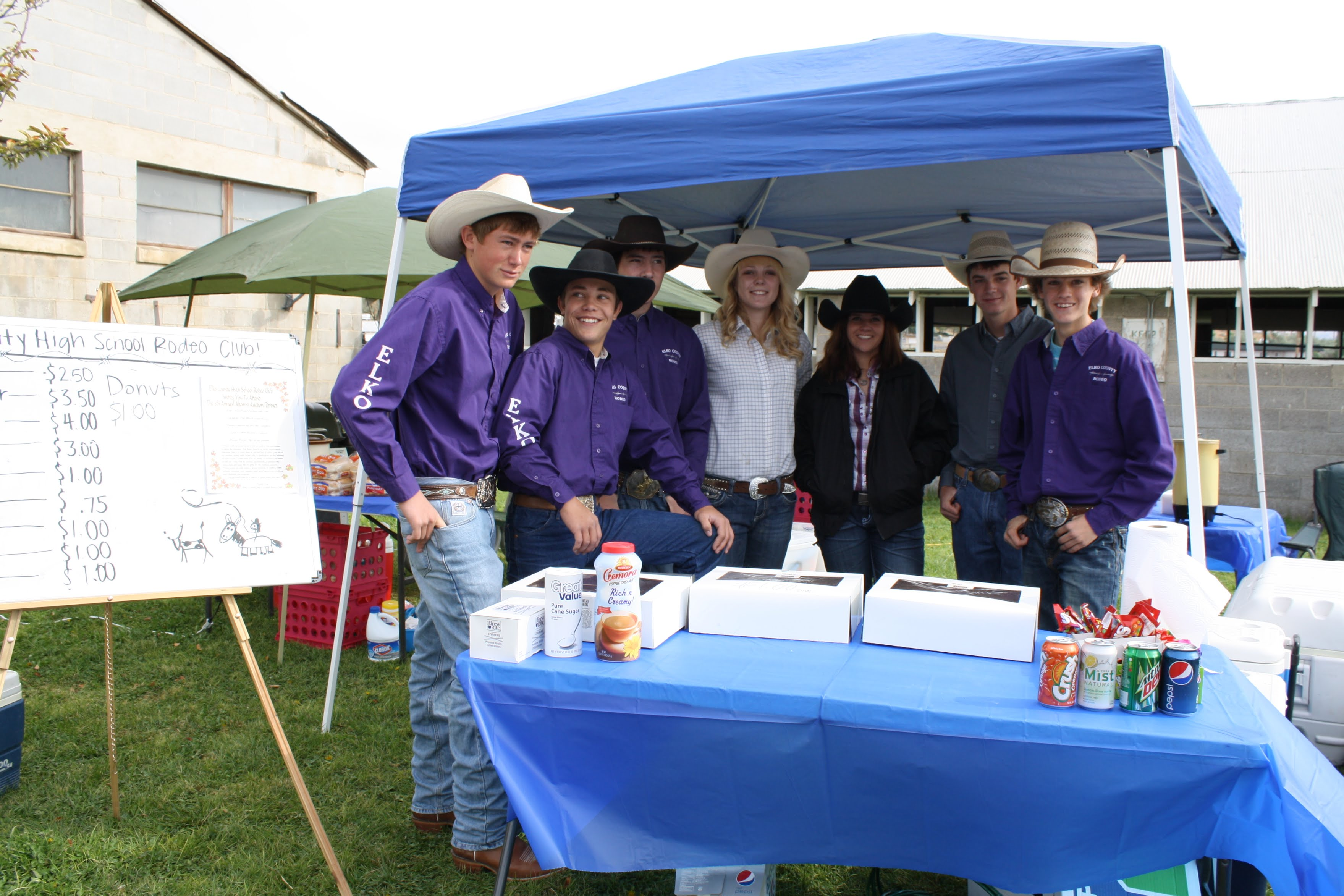 2011 Vanorman Horse Sale Concessions Hosted by the ECHSRC September 17th