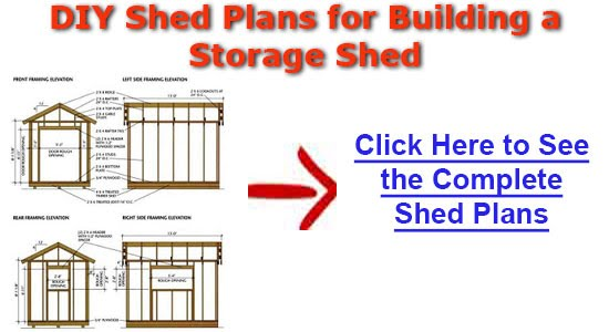 10x10 Shed Blueprints Learn How To Easily Set Up A Diy Shed