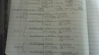 determination of the empirical formula of silver oxide answers