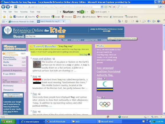 More Practice Searching   Encylopaedia Britannica Kids Online Tutorial