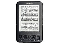 The Amazon Kindle. Image from http://en.wikipedia.org/wiki/File:Amazon_Kindle_3.JPG