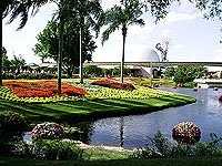 Image of Epcot Center, by Miramar93, http://en.wikipedia.org/wiki/File:Epcot_Scenery.JPG