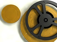 Image of Film reel and canister, by alexsaes, http://www.sxc.hu/photo/1170837