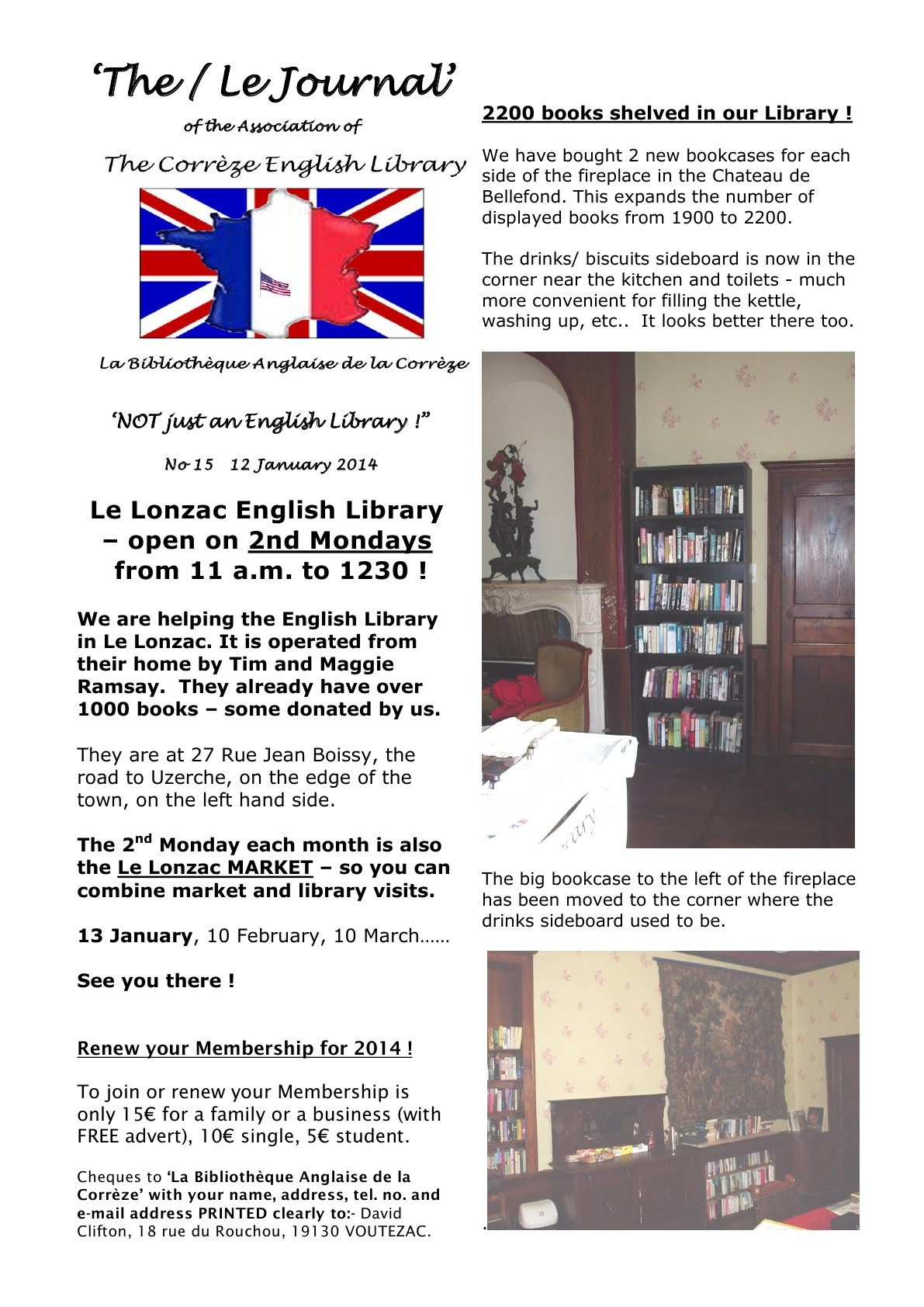 The Journal The English Library in the Correze