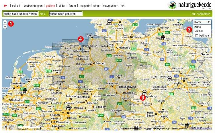 geographical map of germany functions of maps   enjoynature_tips & tricks