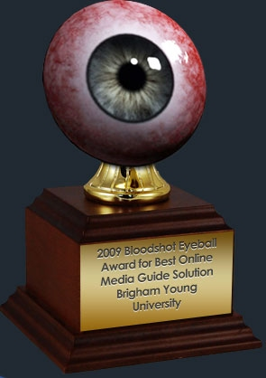 2009 Bloodshot Eyeball Award For Best Contribution to Sport Media Dialogue