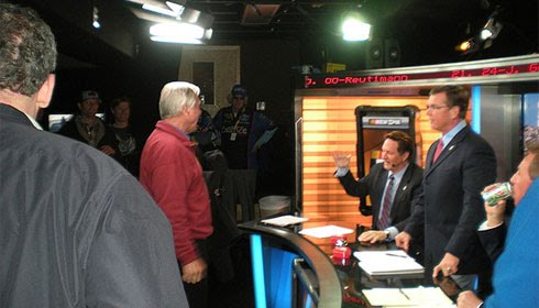 NASCAR on FOX behind the scenes at 2010 Daytona 500