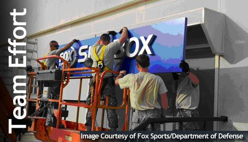 FOX Sports and Department of Defense Collaborate for Warfighters