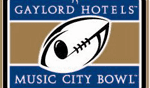 Gaylord Hotels Music City Bowl logo image
