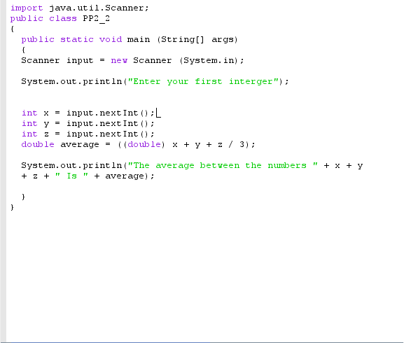 basic math in java - Dabby McDabberson The Dabbiest Dabber Of All