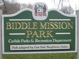 Image result for carlisle biddle mission park