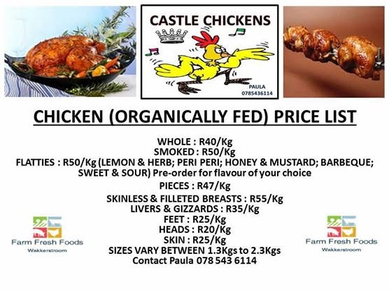 Farm Fresh Foods Organically Reared Chickens Ethical Suppliers