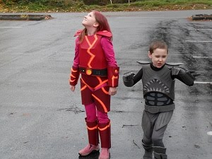 As you can tell I could not get the kids to pose the same but you get the idea!  sc 1 st  Google Sites & 10-15-13 Sharkboy and Lavagirl - EVAkura Armor