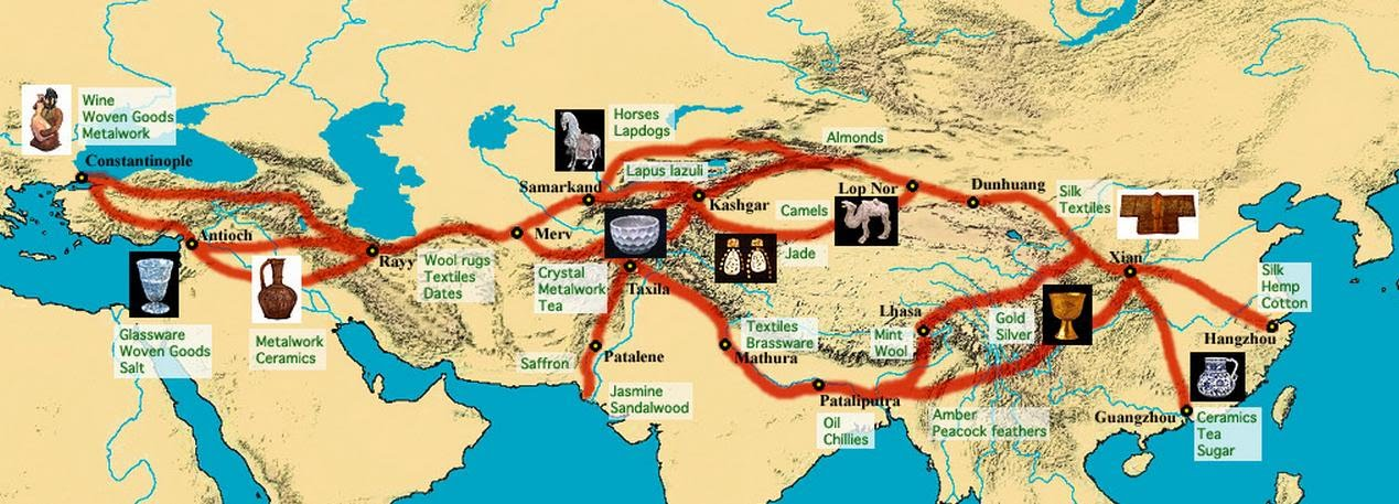 an analysis of silk road in ancient chinese civilization Ancient china trade and farming were the most important parts of china's  economy china sold silk and paper, among other things china also.