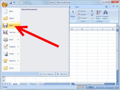 how to use google to open excel file