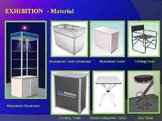 Exhibition Stall Material : Stall section & material manufacturer supplier & fabricator of