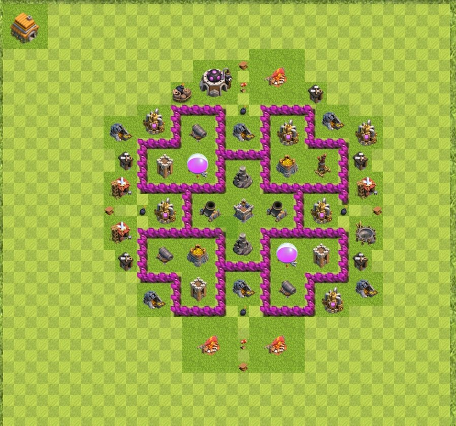 Clash Of Clans Maps War Map Layouts   Clash of Clans Clash Of Clans Maps