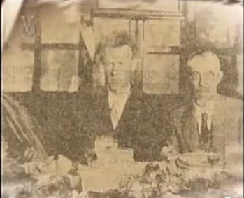 Lunch with Col. Lindbergh - Caracas, Jan 30, 1928.