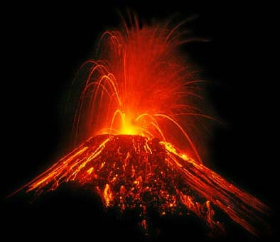 the factors causing a volcano to erupt In general, large earthquakes in alaska and around the globe that result from the  relative motion of tectonic plates do not cause volcanoes to erupt however.