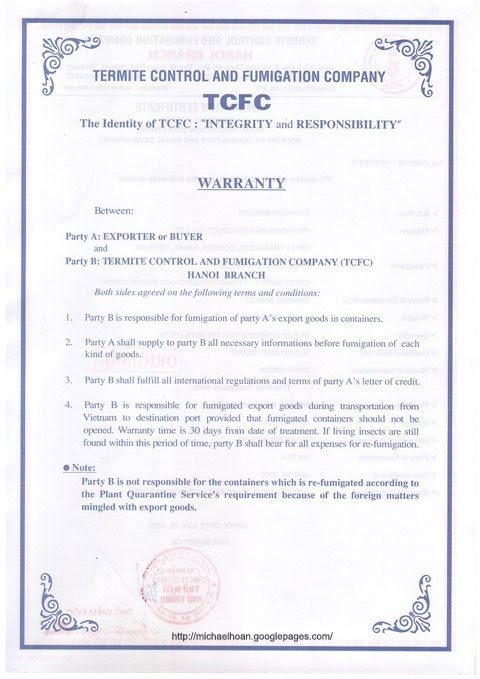 FUMIGATION-CERTIFICATE-02-full Offer Letter Template on executive job, temporary position, employee job, counter proposal, decline job, for temp position, simple employee, business purchase, employer job, executive employment,