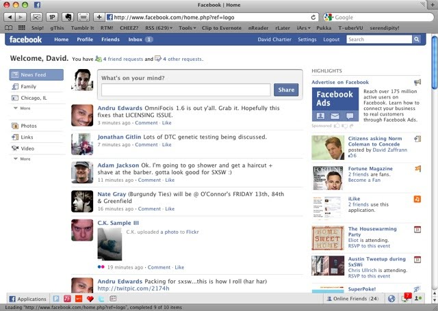 The Components Of Facebook Facebo0ok Projet