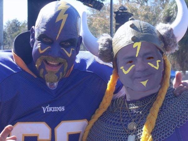 Chris ruane Minnesota Vikings fan