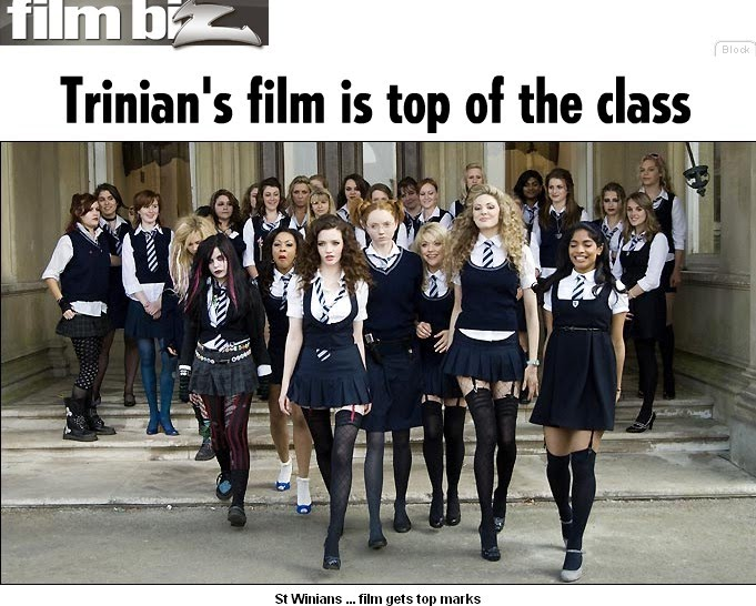 kelly jones st trinians. The St Trinian#39;s girls are