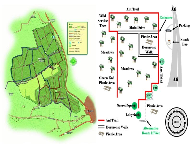 Maulden woods map faith woodlands communities maulden woods map publicscrutiny Images