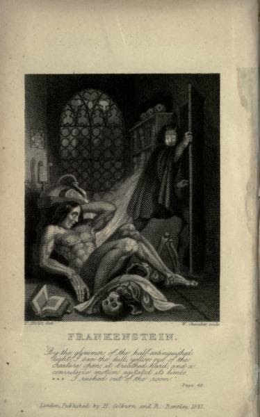 Frankenstein, 1831 Edition