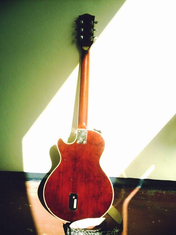 Kay Guitar Back