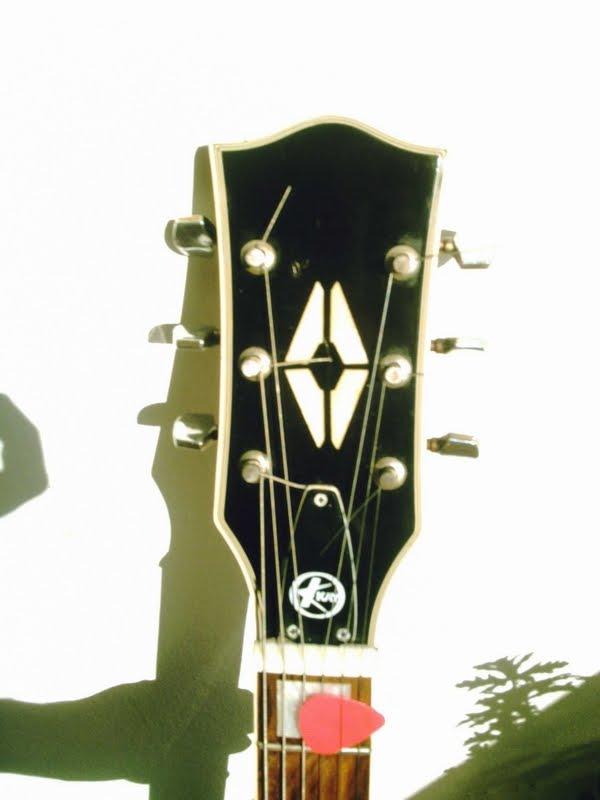 Kay Guitar Head & Logo