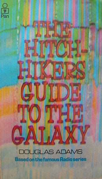 Hitchhikers Guide Front Cover