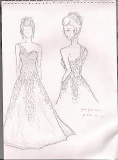 the gallery for gt fashion design sketches of dresses 2012
