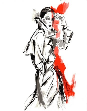 Fashion illustration by anna kiper 29