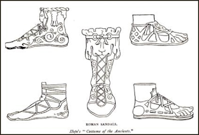 The Fine Footwear of Ancient Rome - fashion in the ancient ...