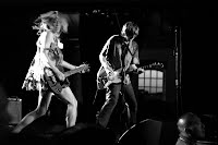 Kim Gordon and Thurston Moore of Sonic Youth live at Accelerator, Münchenbryggeriet, Stockholm, Sweden, 2005-07-07. (c) Anders Jensen-Urstad