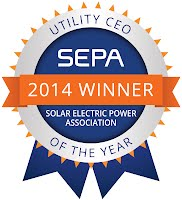 SPI 2014 - SEPA Honors Warren McKenna as Utility CEO of the Year