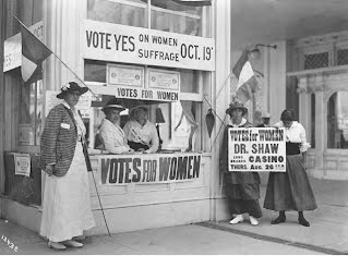 an analysis of the womens suffrage movement in 1920s Describes the history of the women's rights movement and pinpoints prominent figures and events  of the national american women's suffrage association and the .