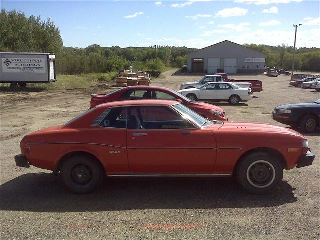 Photograph Of A 1977 Toyota Celica By James B. Bleeker. Photo Was Taken In
