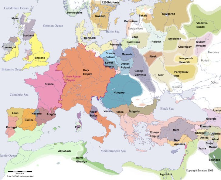 Europe   Early Middle Ages   Ferguson APWH